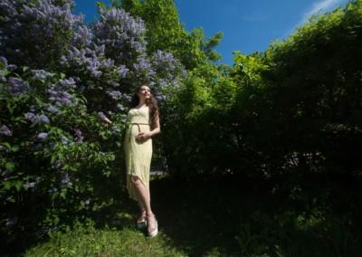 Беременная девушка фотосессия