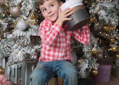 Новогодняя фотосессия в детском саду