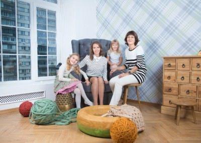 Семейная фотосессия в Москве недорого
