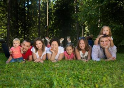 Семейная фотосессия в Одинцово