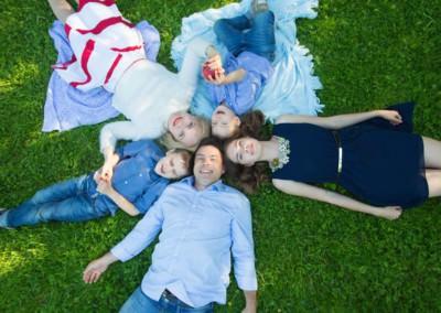 Семейная фотосессия в Химках
