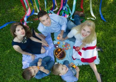 Семейная фотосессия в подарок в Москве