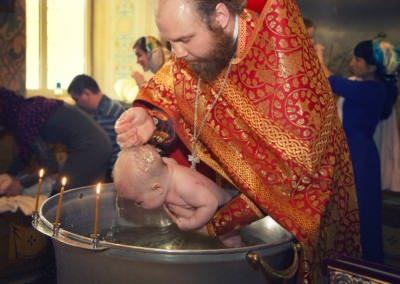 Фотосессия на крещение ребенка