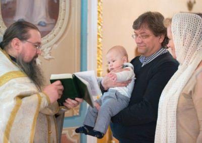 Фотосъемка крещения в Москве